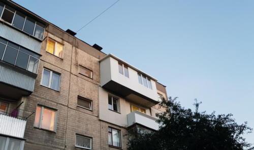 Розширення кімнати та кухні за рахунок балкону вул. Симоненка