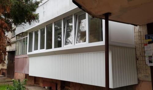 Розширення балкону перший поверх вул. Симоненка